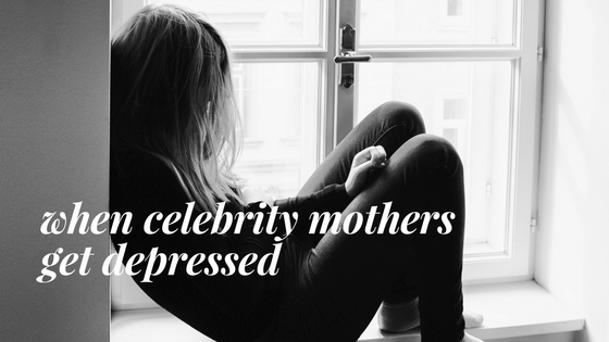 When celebrities share their experience of postnatal depression and anxiety.